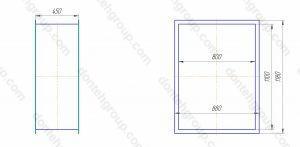 гибкий компенсатор вставка прямоугольный 1