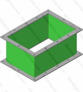гибкий компенсатор вставка прямоугольный