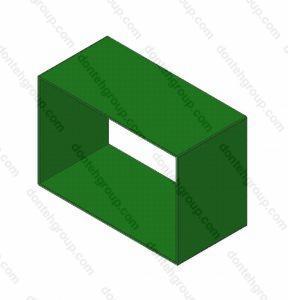 Компенсатор гибкий прямоугольный без фланца